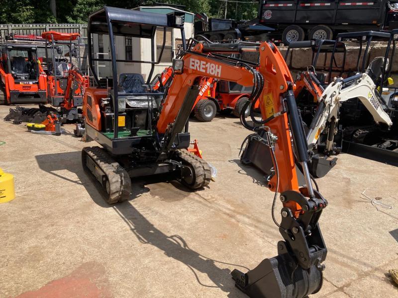2021 Everun ERE18H Mini Excavators 25HP Kubota Diesel 4000# Retractable Tracks