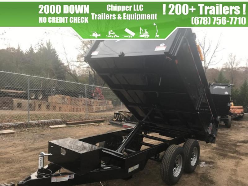 2021 Homesteader 6x10 7K 2ft Curbside Combination Gate Dump Trailer