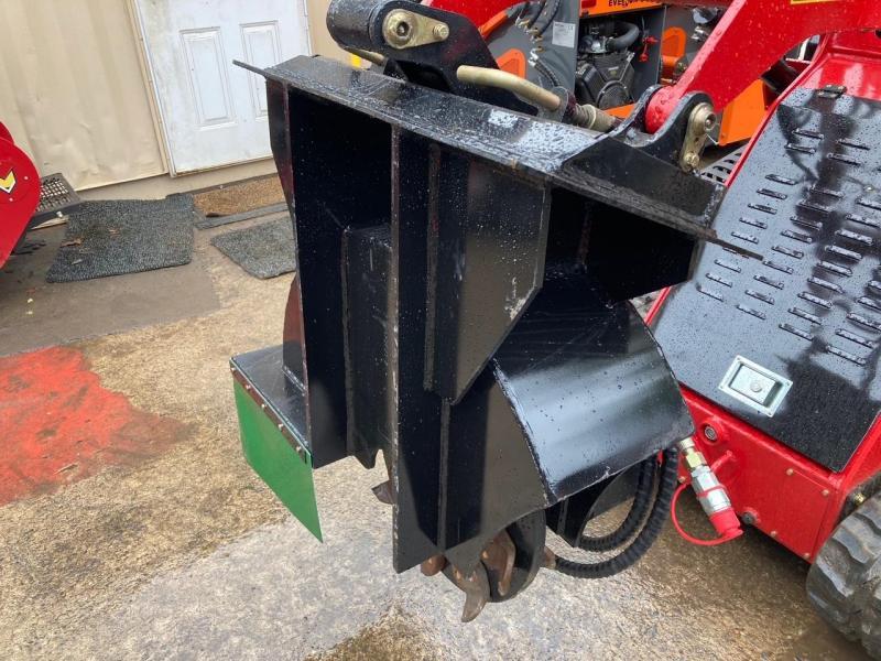 "2021 Iron Rhino Stump Grinder 18"" Mini Skid Steer Universal Attachment"