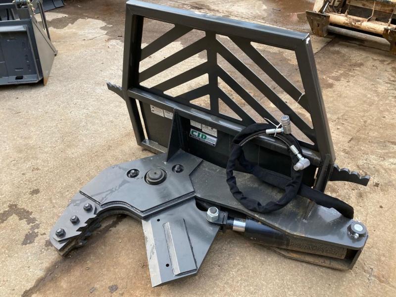 2021 CID Non-Rotating X-treme Tree Shear Skid Steer Attachment