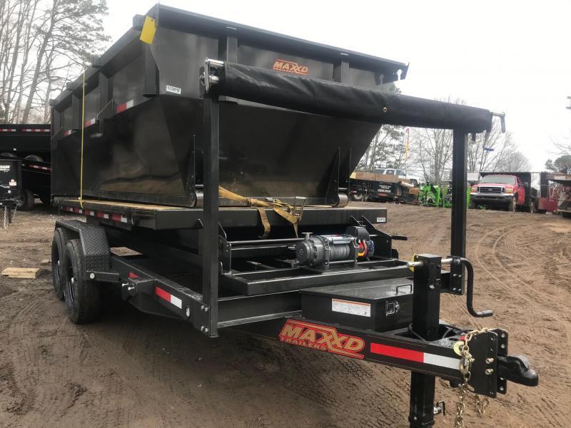 2021 MAXXD ROX 16K Roll Off Bumperpull Dump Trailer