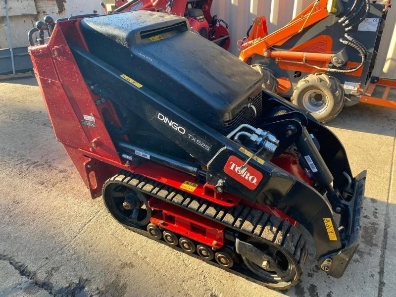 2020 Toro TX525 Narrow Track Walk Behind Mini Skid Steer with bucket