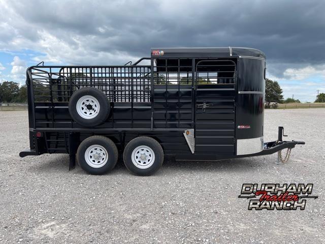 2022 GR Trailers 16' Bumper Pull Half Top Livestock Trailer
