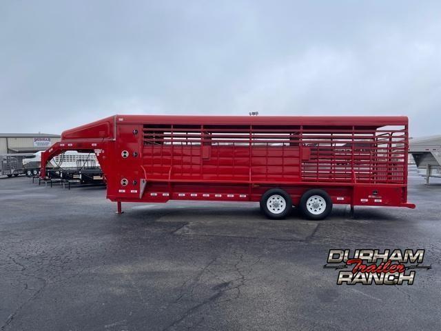 2020 GR Trailers 24 FT Gooseneck Livestock Trailer