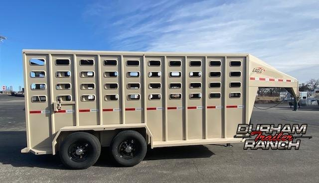 2021 Maxxim Eagle 16' GN Stock Trailer