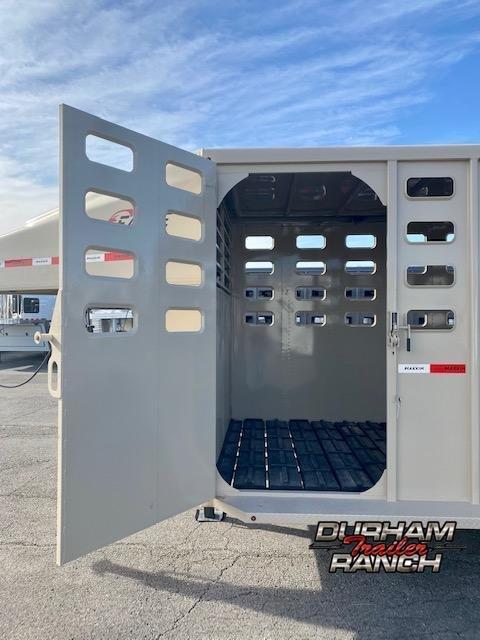 2021 Maxxim Industries 16' GN Stock Trailer
