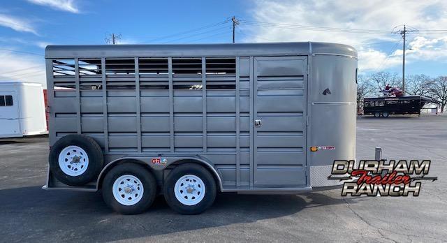 2021 GR Trailers 3H Slant Livestock Trailer