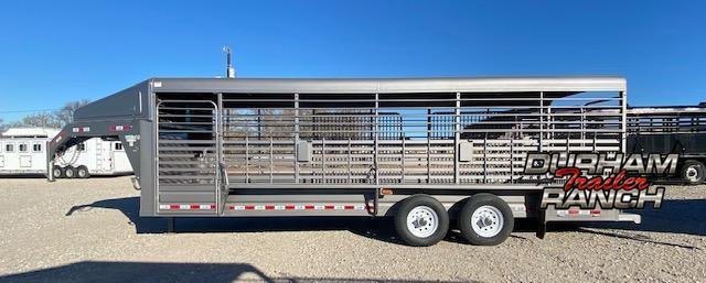 2021 GR Trailers Gooseneck Stock Trailer