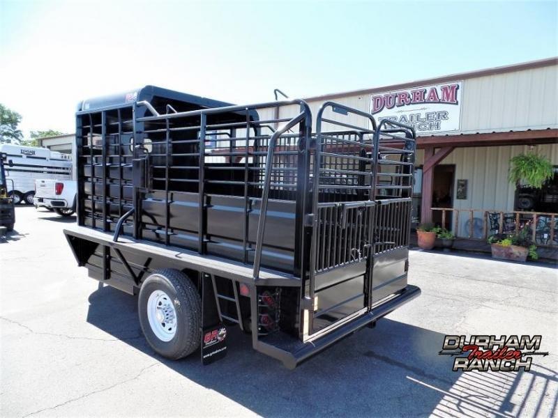 2020 GR Trailers 14' BP Half-top Livestock Trailer