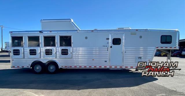 2012 Hart 4H Horse 10.5 Outlaw LQ Trailer
