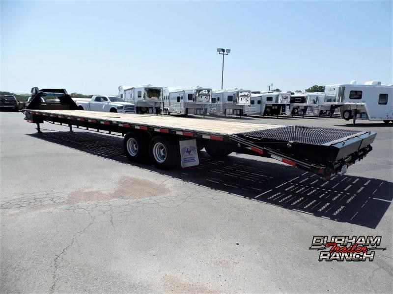 2019 Texas Bragg Trailers 35'+5' Dovetail Flatbed Trailer