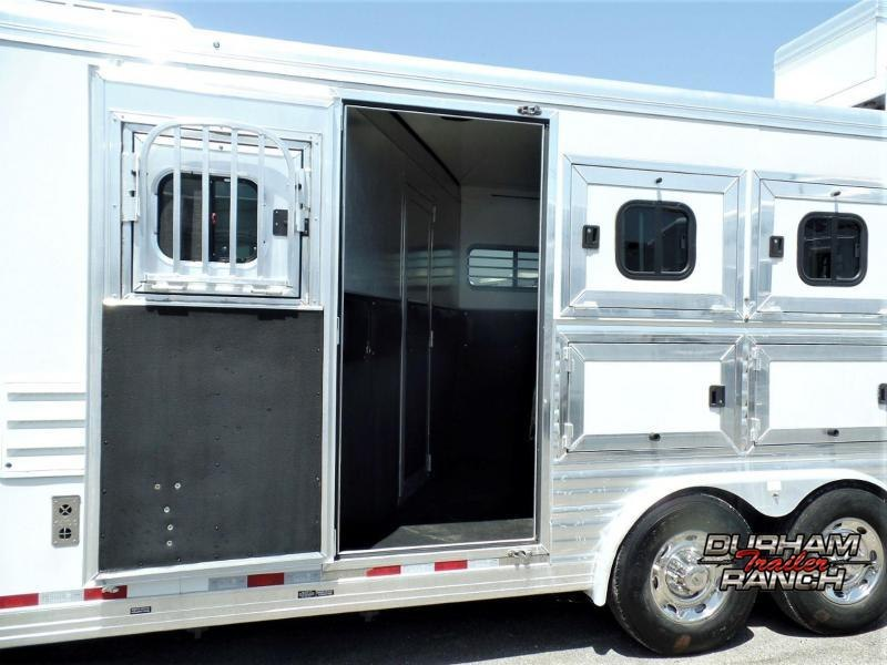 2011 CM Revolution 3H w/ 10' Short Wall Horse Trailer
