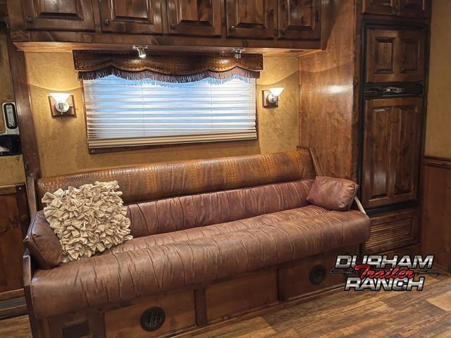 "2014 Bloomer 4H 17' 2"" Outlaw Conversion LQ Horse Trailer"