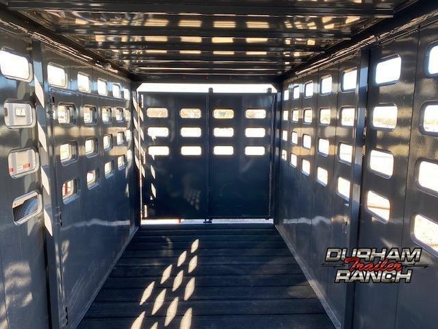 2021 Maxxim Eagle 16' GN Stock Trailer Livestock Trailer