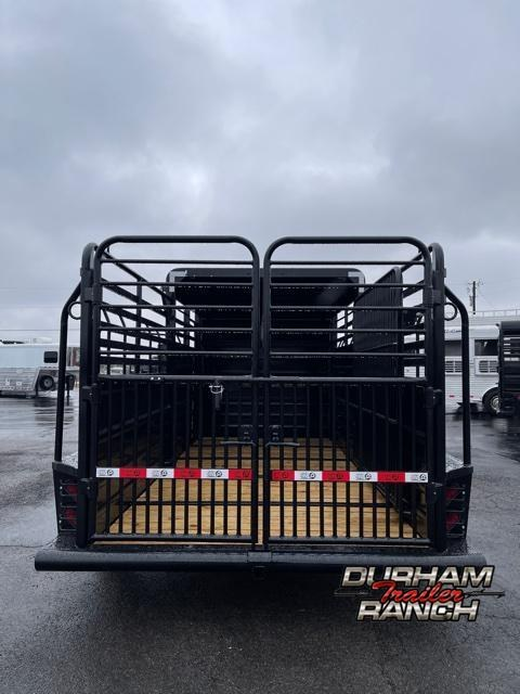 2021 GR Trailers 16' Half Top GN Livestock Trailer
