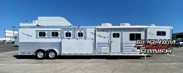 2015 Platinum Coach 4H Horse Trailer