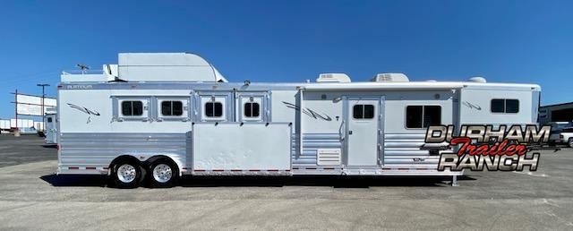 2015 Platinum Coach 4H Horse Trailer