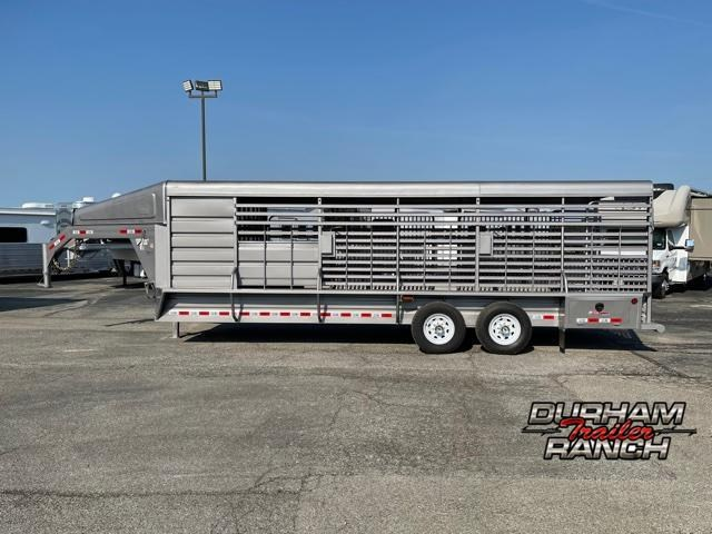 2022 GR Trailers 24' Gooseneck Livestock Trailer