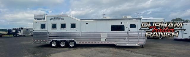 2018 Bloomer 4H 16.5'sw Slideout Horse Trailer