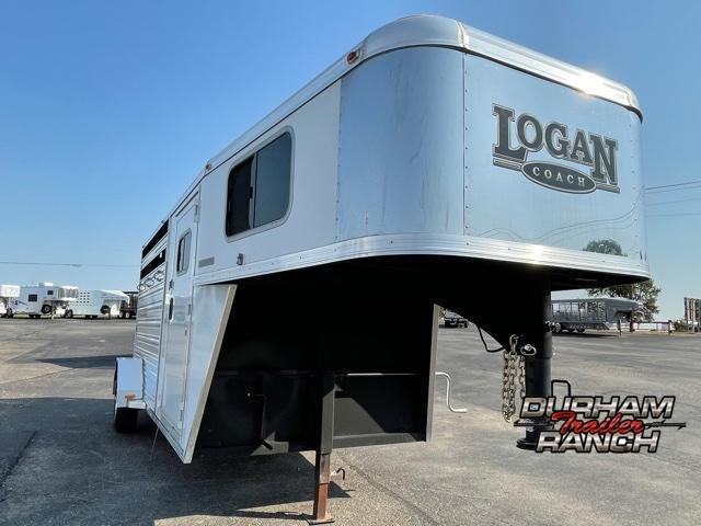 2016 Logan Coach 14' Stockman Livestock Trailer