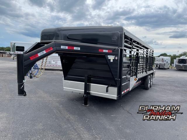 2021 GR Trailers 24 FT Gooseneck Livestock Trailer