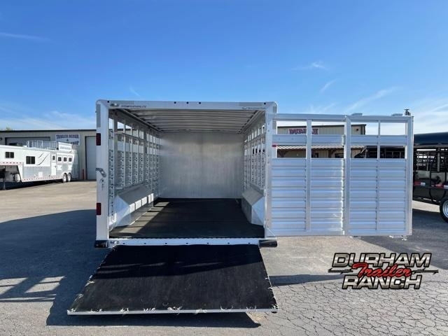 2015 Featherlite Stock Combo Trailer