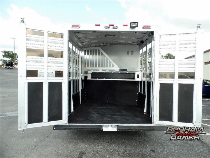 2014 Platinum Coach 2H w/ 5' Dressing Room & 5' Mid-Tack Horse Trailer