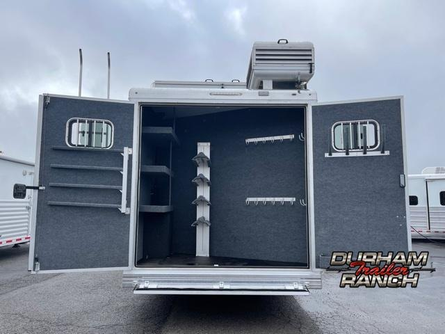 """2020 Bloomer 4H Bloomer w/15' 11"""" Outlaw Conversion LQ Horse Trailer"""