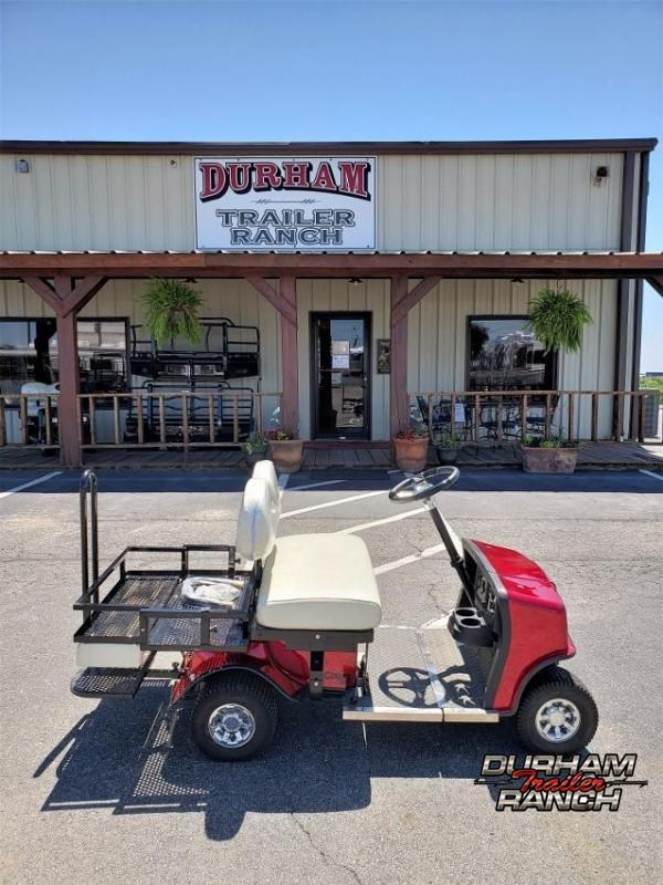 2020 Red SX-3 Cricket Mini Golf Cart w/ White Seats