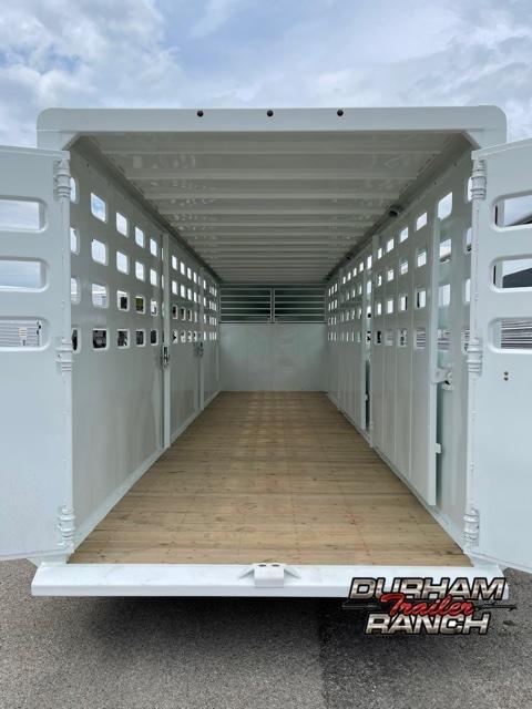 2021 Maxxim Industries GN Livestock Trailer