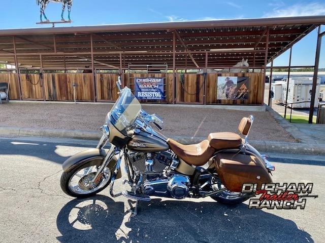 2012 Harley Davidson Softail CVO Motorcycle