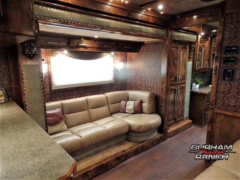 2010 Bloomer 4H w/ 19'9 SW and 10' Slide Out Horse Trailer