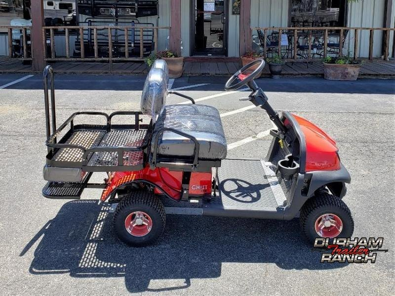 2020 Red RX-5 Cricket Mini Golf Cart