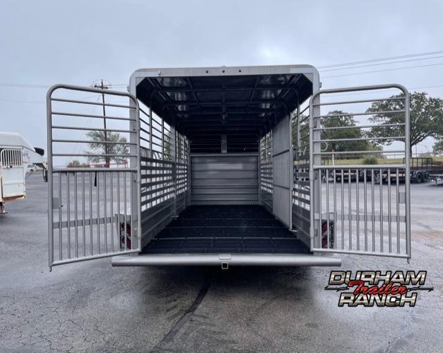 2022 GR Trailers 20' Gooseneck Livestock Trailer