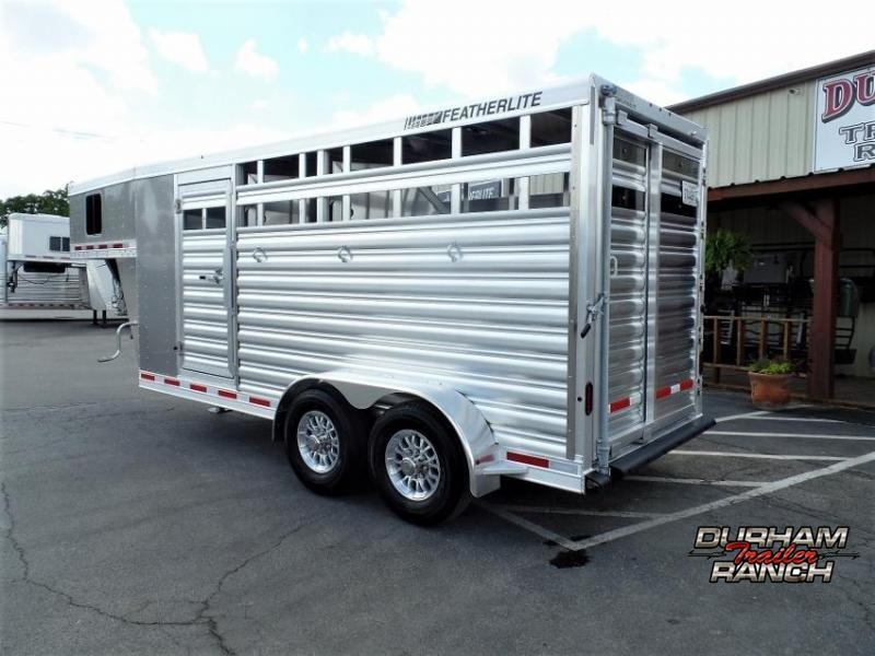 2020 Featherlite 3H w/ 2' Front Tack Horse Trailer
