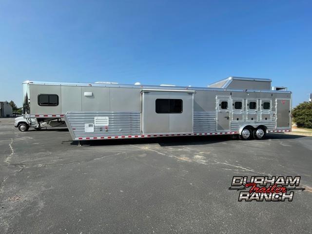 2013 Hart Trailers 4H 22 FT Outlaw Conversion LQ Horse Trailer