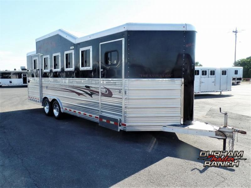 2011 Bloomer 5H BP PC Load Horse Trailer