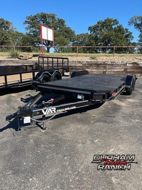 "2021 VAR Trailers 20'x83"" Car Hauler Steel Floor Utility Trailer"
