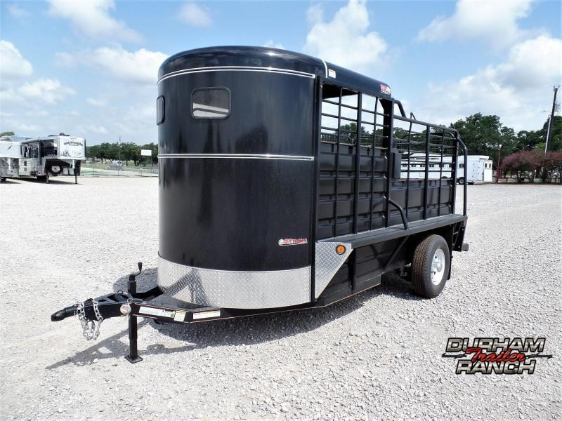 2020 GR 14' BP Half-Top Livestock Trailer