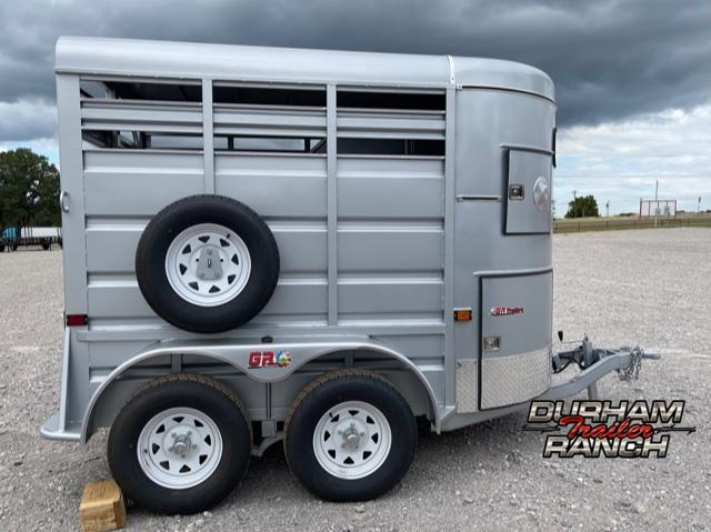 2022 GR Trailers 10' 2 Horse Straight Load Horse Trailer