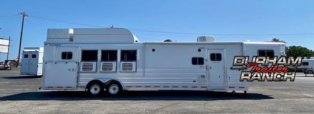 2018 Platinum Coach 4H Horse Trailer
