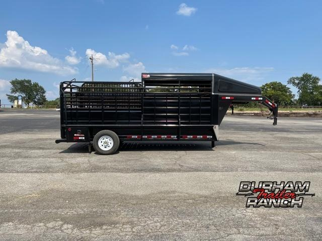 2021 GR Trailers 16 FT Half Top Livestock Trailer