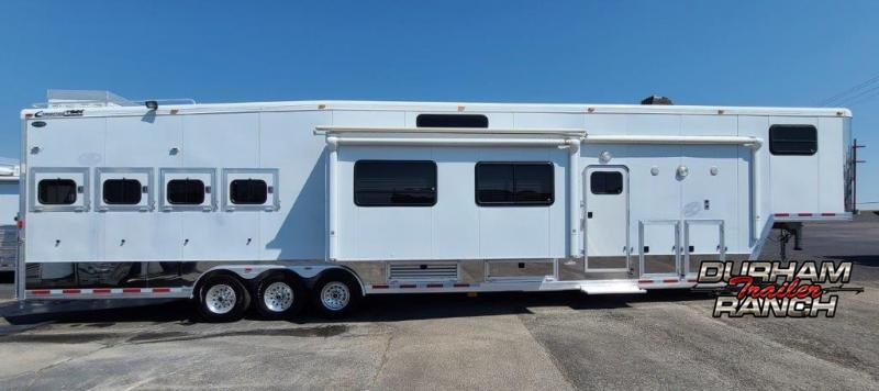 2006 Cimarron 4H Bunk Model Horse Trailer
