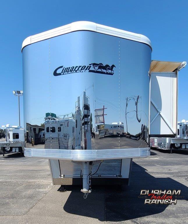 2006 Cimarron 4H Bunk Model Horse Trailer