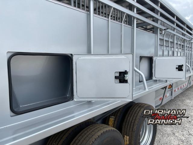 2022 GR Trailers 40 FT Gooseneck Livestock Trailer