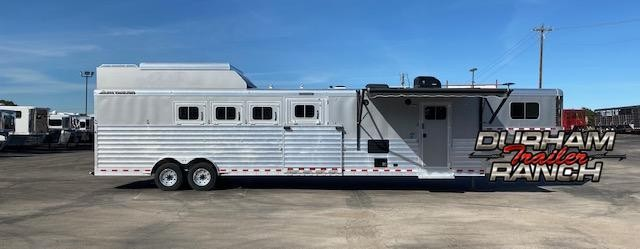 2018 Elite Trailers 4H Reverse Load Horse Trailer