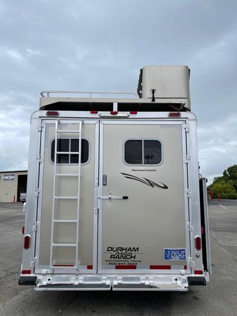 2016 Platinum 4 Horse PC Load 14.5 Outlaw LQ Horse Trailer