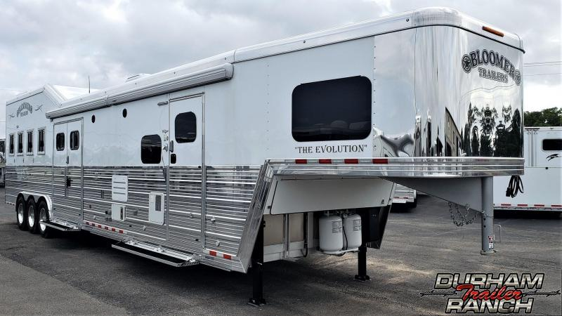 2019 Bloomer 4H w/ 20ft SW LQ & 6ft Slide Out Horse Trailer