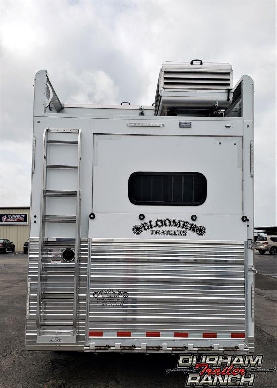 2019 Bloomer 4H w/ 20ft SW LQ & 6ft Slide Out Horse Trailer