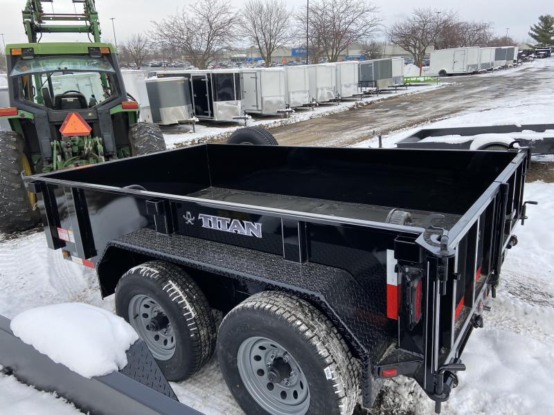 2021 Titan Trailers 72x10 Hydraulic Dump Dump Trailer